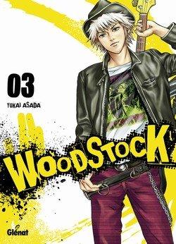 couverture, jaquette Woodstock 3  (Glénat Manga)
