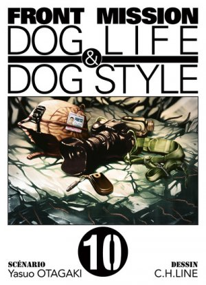 couverture, jaquette Front Mission Dog Life and Dog Style 10  (Ki-oon) Manga