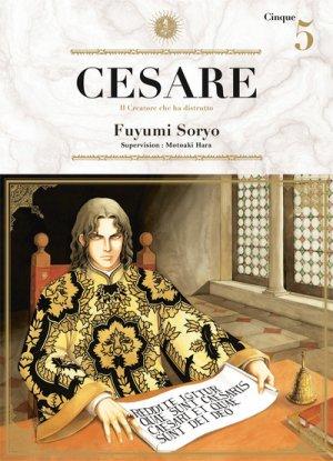 couverture, jaquette Cesare 5  (Ki-oon) Manga