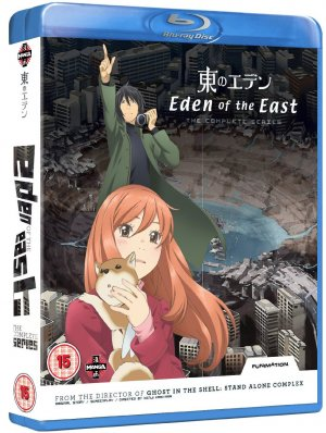 Eden of the East édition Bluray definitive collection UK