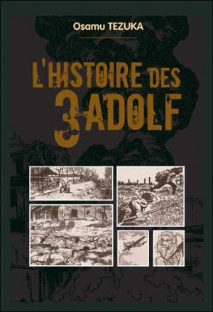 couverture, jaquette L'Histoire des 3 Adolf 2  (France loisirs manga)