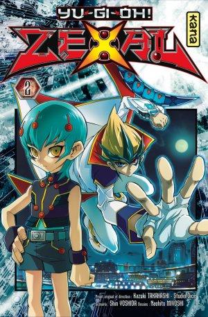 couverture, jaquette Yu-Gi-Oh! Zexal 2  (kana)