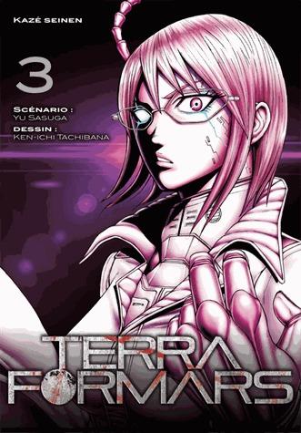 couverture, jaquette Terra Formars 3  (kazé manga) Manga
