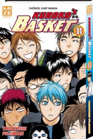 couverture, jaquette Kuroko's Basket 11  (kazé manga)