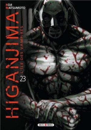 couverture, jaquette Higanjima 23  (soleil manga)