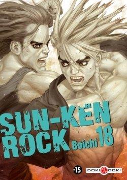 couverture, jaquette Sun-Ken Rock 18  (Doki-Doki)