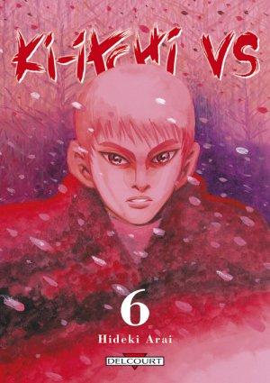 couverture, jaquette Ki-itchi VS 6  (Delcourt Manga)