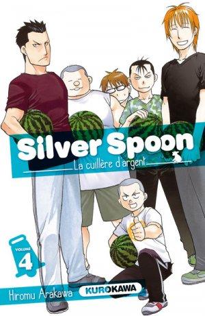 Silver Spoon - La Cuillère d'Argent T.4