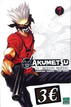 Akumetsu Découvert 1 Manga