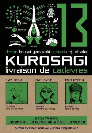 couverture, jaquette Kurosagi - Livraison de cadavres 13  (Pika)