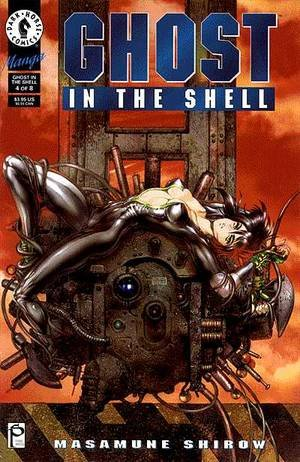 couverture, jaquette Ghost in the Shell 4  (Dark horse US)