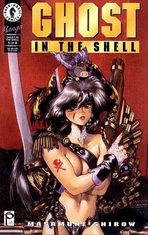 couverture, jaquette Ghost in the Shell 5  (Dark horse US)