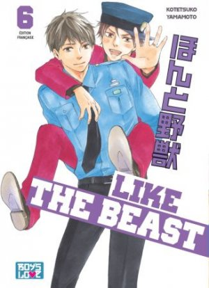 couverture, jaquette Like the Beast 6  (IDP)