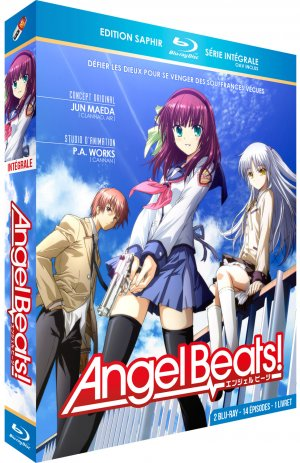 Angel Beats ! édition Blu-ray Saphir