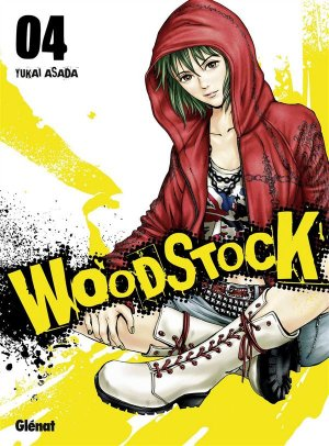 couverture, jaquette Woodstock 4  (Glénat Manga)