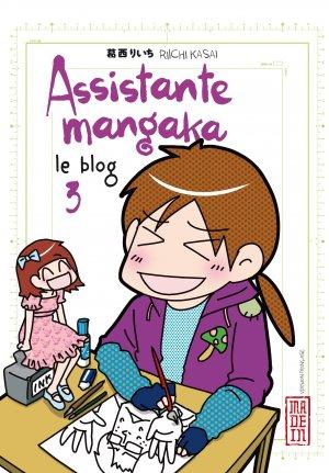 Assistante Mangaka Le Blog T.3
