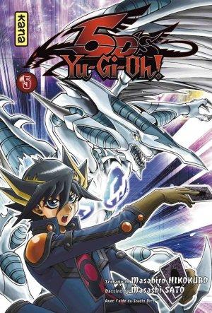 couverture, jaquette Yu-Gi-Oh! 5D's 5  (kana) Manga