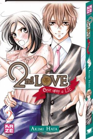 couverture, jaquette 2nd Love - Once upon a lie 2  (kazé manga)