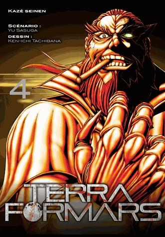 couverture, jaquette Terra Formars 4  (kazé manga)