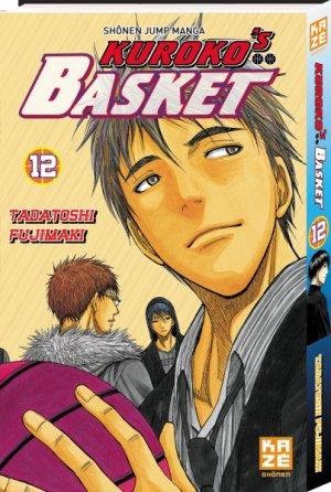 couverture, jaquette Kuroko's Basket 12  (kazé manga)
