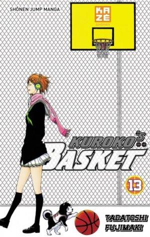 couverture, jaquette Kuroko's Basket 13  (kazé manga)