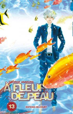 couverture, jaquette A Fleur de Peau 13  (Delcourt Manga) Manga