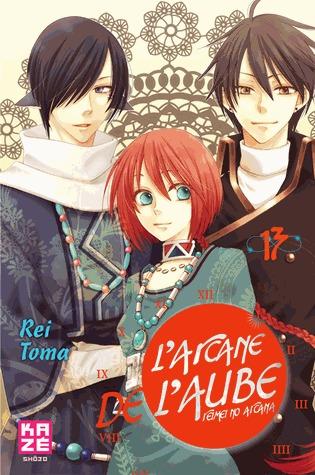 couverture, jaquette L'Arcane de l'Aube 13  (kazé manga)
