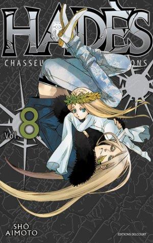 couverture, jaquette Hadès 8  (Delcourt Manga)