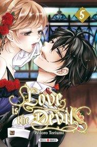 couverture, jaquette Love is the Devil 5  (soleil manga)
