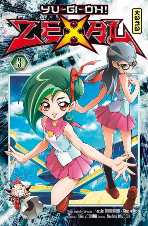 couverture, jaquette Yu-Gi-Oh! Zexal 3  (kana) Manga