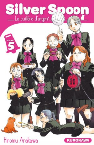 couverture, jaquette Silver Spoon - La Cuillère d'Argent 5  (Kurokawa)