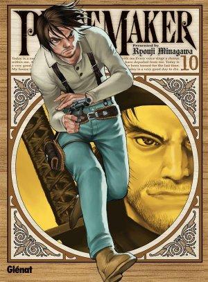 couverture, jaquette PeaceMaker 10  (Glénat Manga)