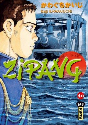 couverture, jaquette Zipang 40  (kana)