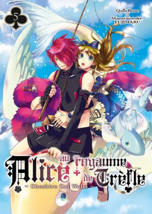 couverture, jaquette Alice au Royaume de Trèfle - Cheshire Cat Waltz 5  (Ki-oon)