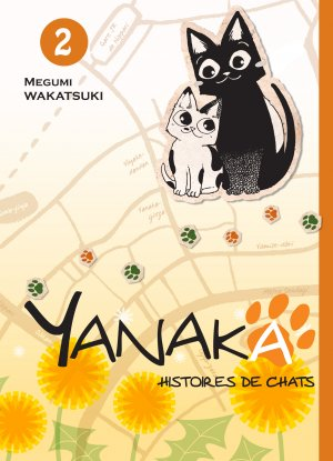Yanaka, histoires de chats T.2