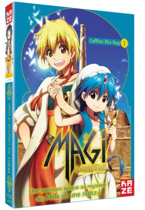 Magi - The Labyrinth of Magic édition Blu-ray