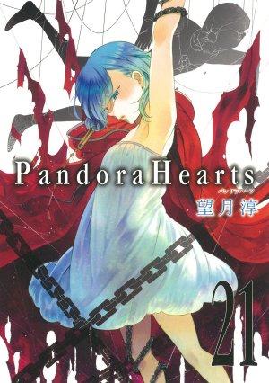 couverture, jaquette Pandora Hearts 21  (Square enix)