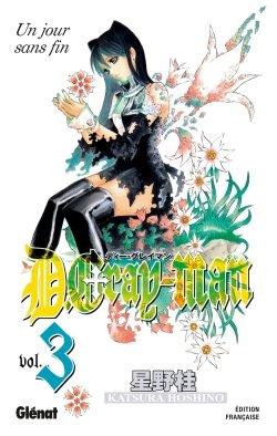couverture, jaquette D.Gray-Man  3 Édition originale (Glénat Manga)