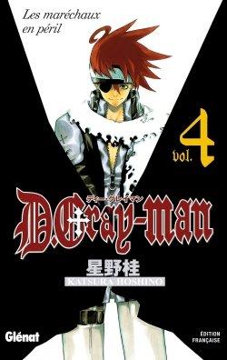 couverture, jaquette D.Gray-Man  4 Édition originale (Glénat Manga)