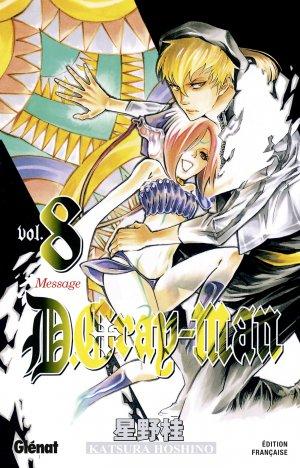 couverture, jaquette D.Gray-Man  8 Édition originale (Glénat Manga)