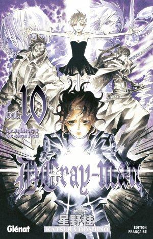 couverture, jaquette D.Gray-Man  10 Édition originale (Glénat Manga)