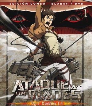 L'attaque des titans édition Combo Blu-ray/DVD