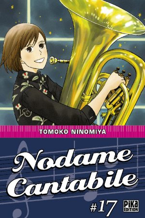 couverture, jaquette Nodame Cantabile 17  (Pika) Manga