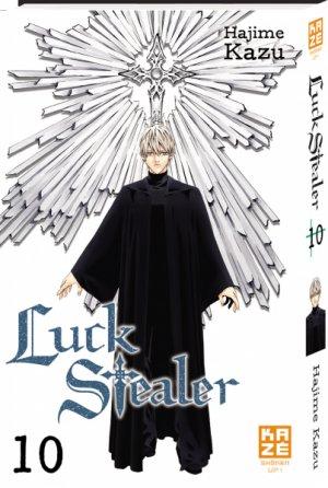 couverture, jaquette Luck Stealer 10  (kazé manga)