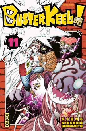 couverture, jaquette Buster Keel ! 11  (kana)