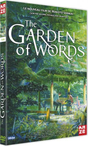 The Garden of Words édition DVD