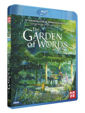 The Garden of Words édition Blu-ray