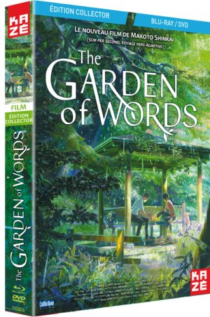 The Garden of Words édition Combo DVD/Blu-ray