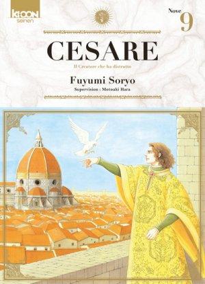 couverture, jaquette Cesare 9  (Ki-oon) Manga