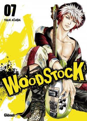 couverture, jaquette Woodstock 7  (Glénat Manga)